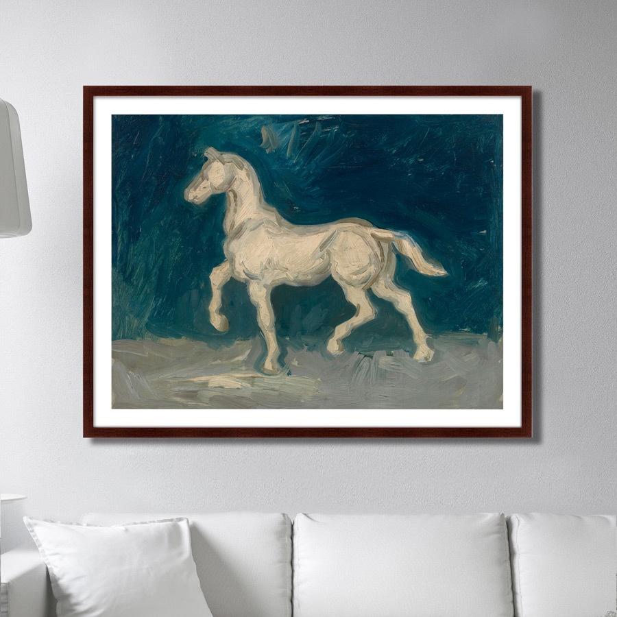 Картина Картины В Квартиру Horse, 1886г., Бумага картины постеры гобелены панно картины в квартиру картина бесконечность линий 35х35 см