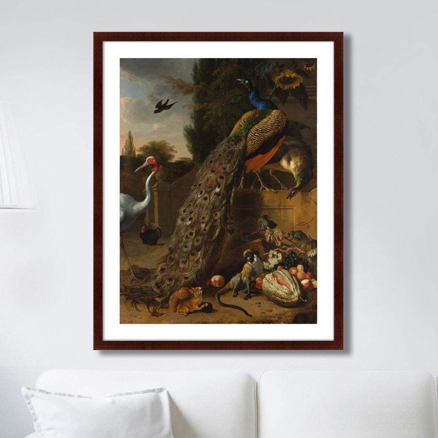 Картина Картины В Квартиру Павлины, 1683г., Бумага цена