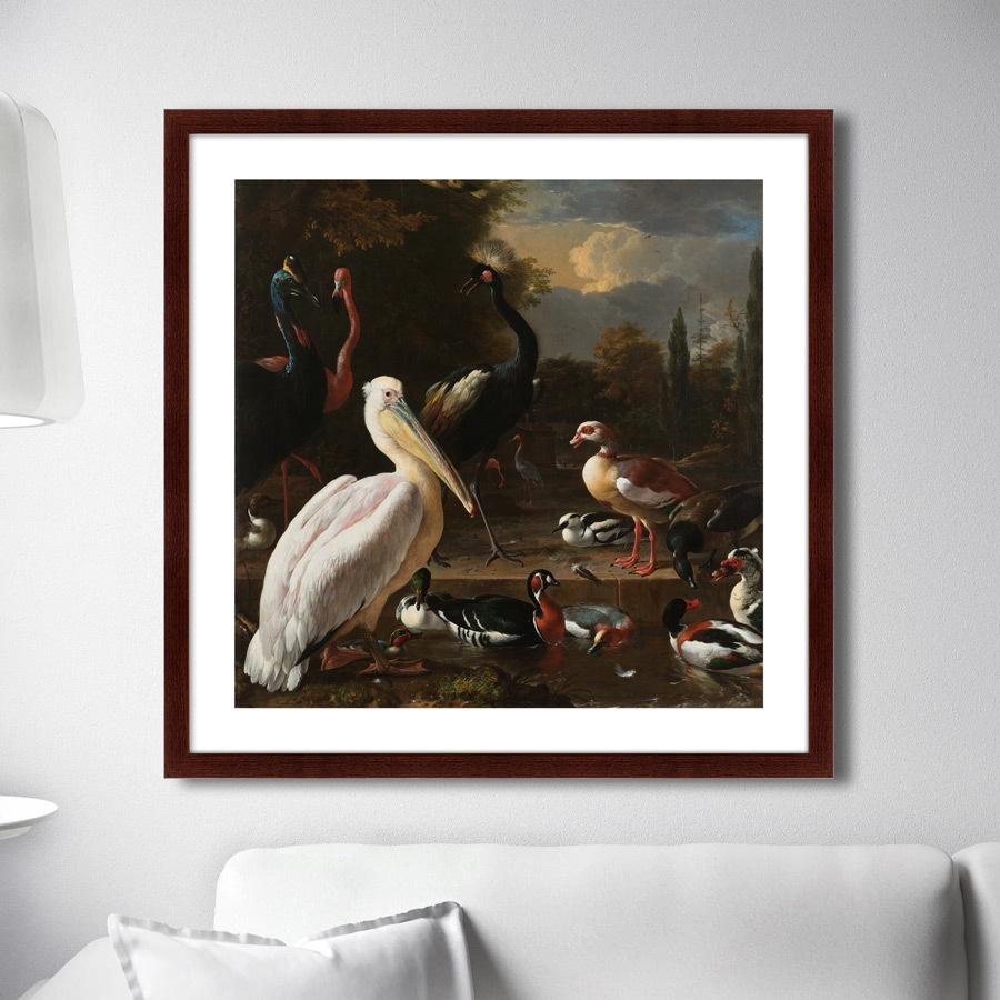 Картина Картины В Квартиру Плавающее перо, 1680г., Бумага цена