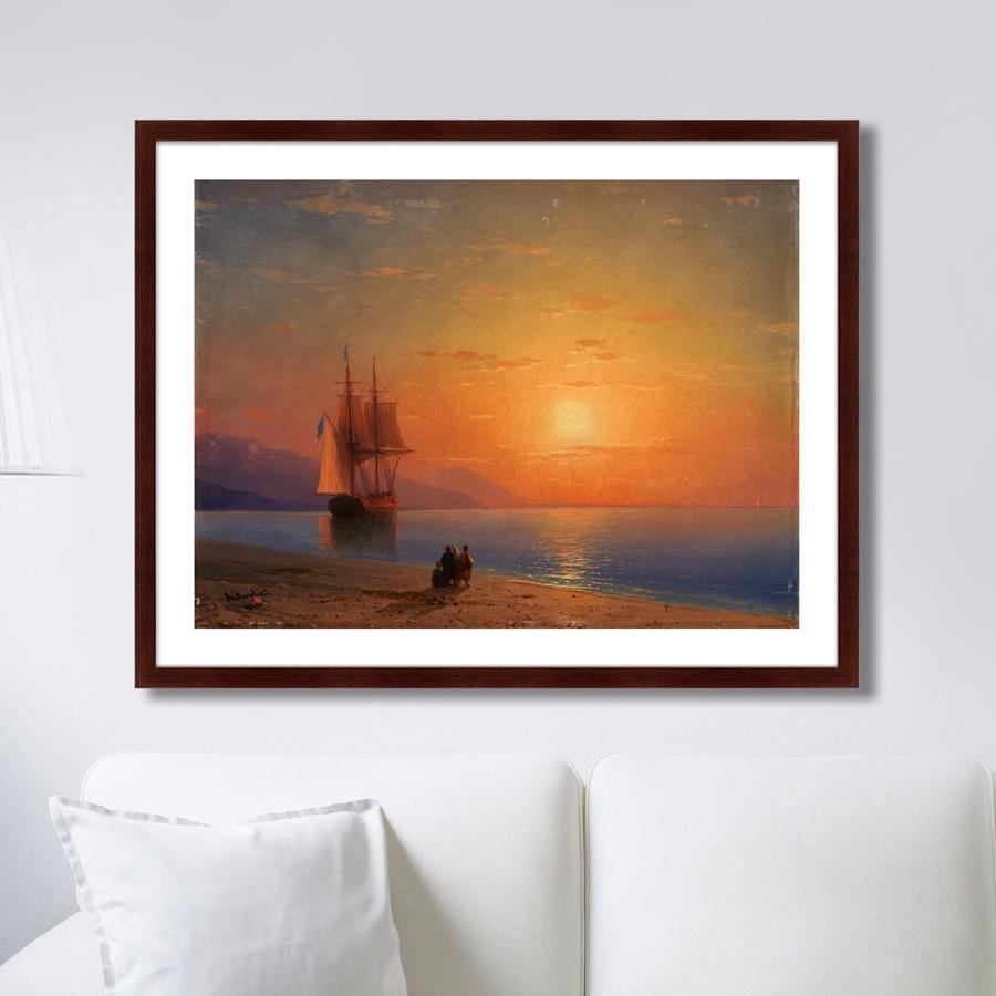 Картина Картины В Квартиру Море, 1864г., Бумага цена
