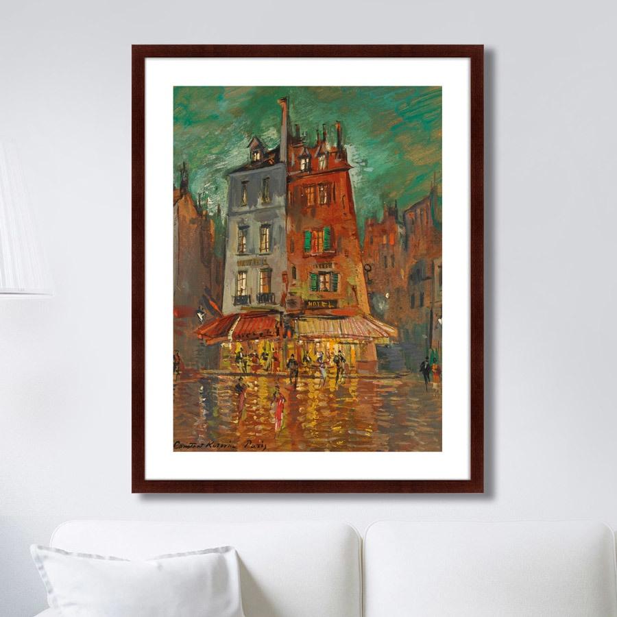 Картина Картины В Квартиру Nachtliches Paris, 1935г., Бумага цена