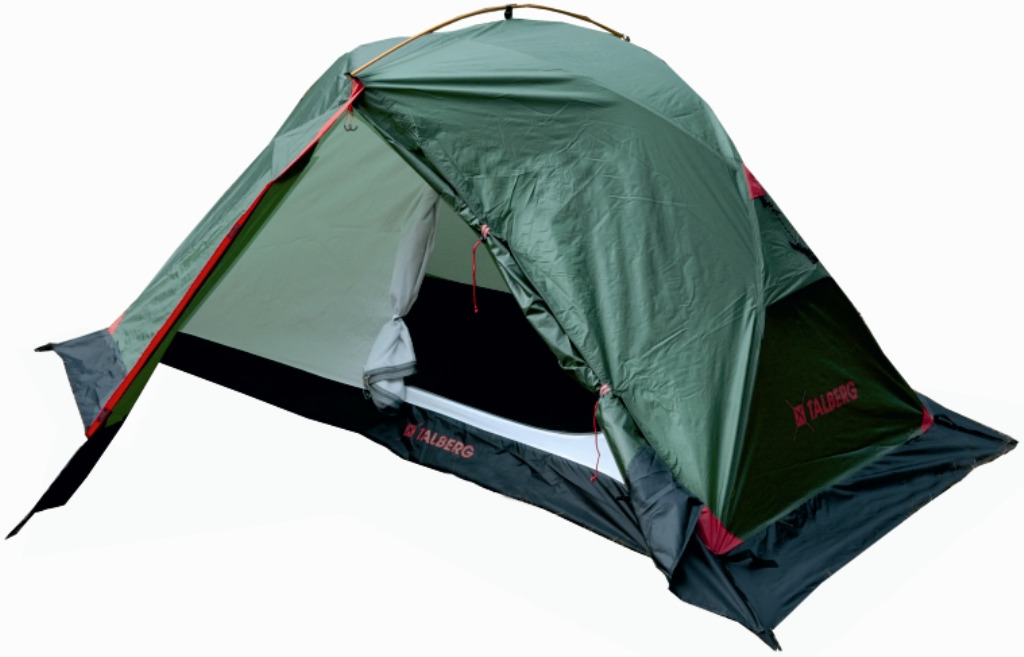 цена на Палатка Talberg BORNEO PRO 2, цвет: зеленый