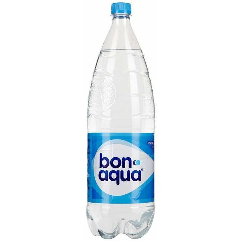 Вода Bonaqua чистая питьевая негазированная, 2л, упаковка 6шт