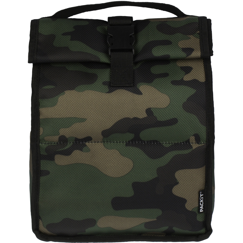 Термосумка PACKiT Roll Top, зеленый сумка для ланча altabebe al1003