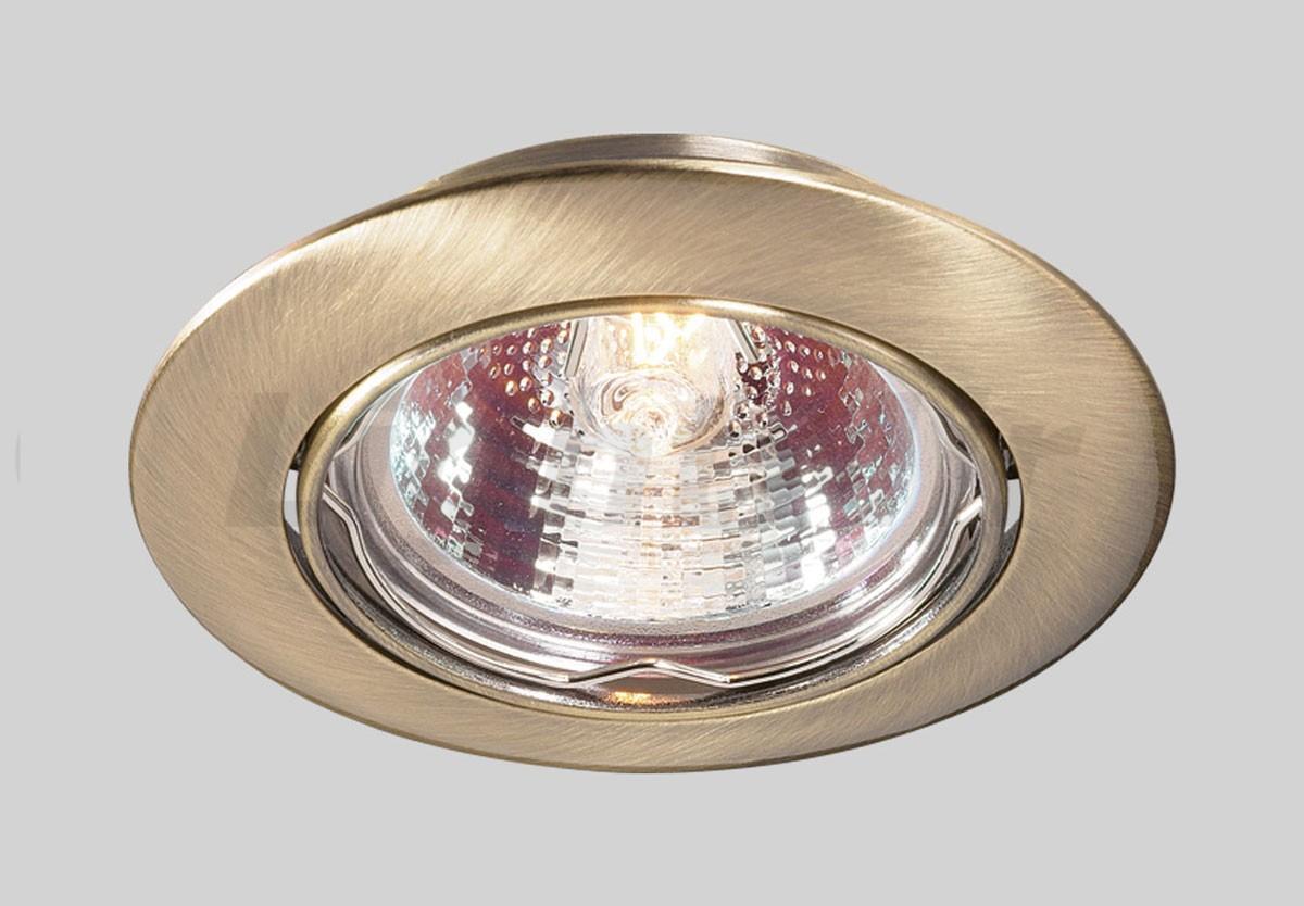 Встраиваемый светильник Novotech 369429, бронза novotech встраиваемый светильник novotech crown 369103