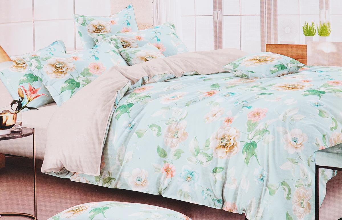 Комплект постельного белья Василиса, 193242, разноцветный, наволочки 70x70 кпб азалия р сем 4 нав