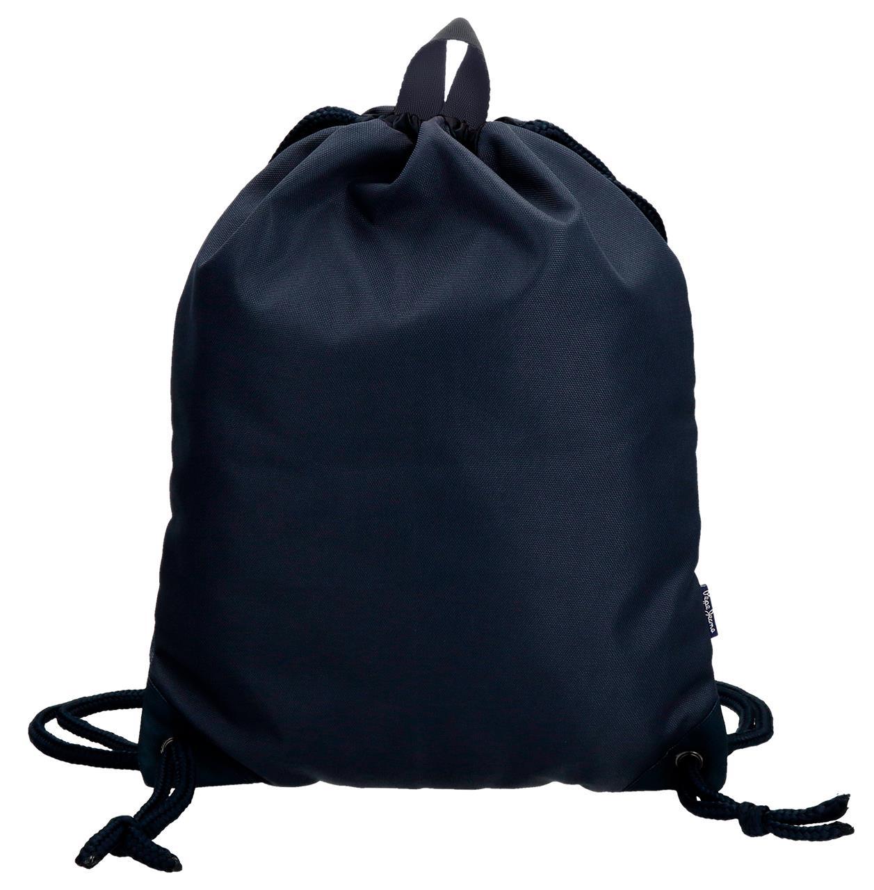 Мешок для сменной обуви Pepe Jeans Ian, синий