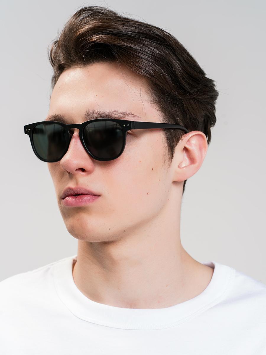 купить Солнцезащитные очки мужские ТВОЕ, цвет: черный. A4703 по цене 299 рублей