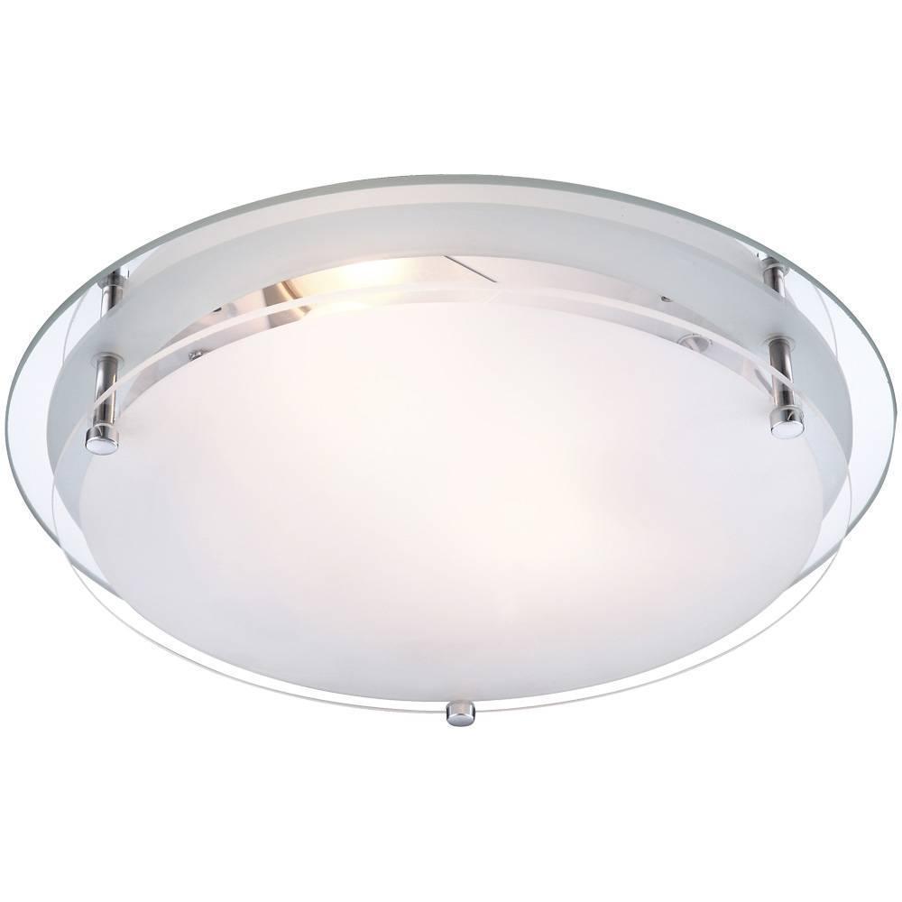 Настенно-потолочный светильник Globo 48167-2, белый цена 2017