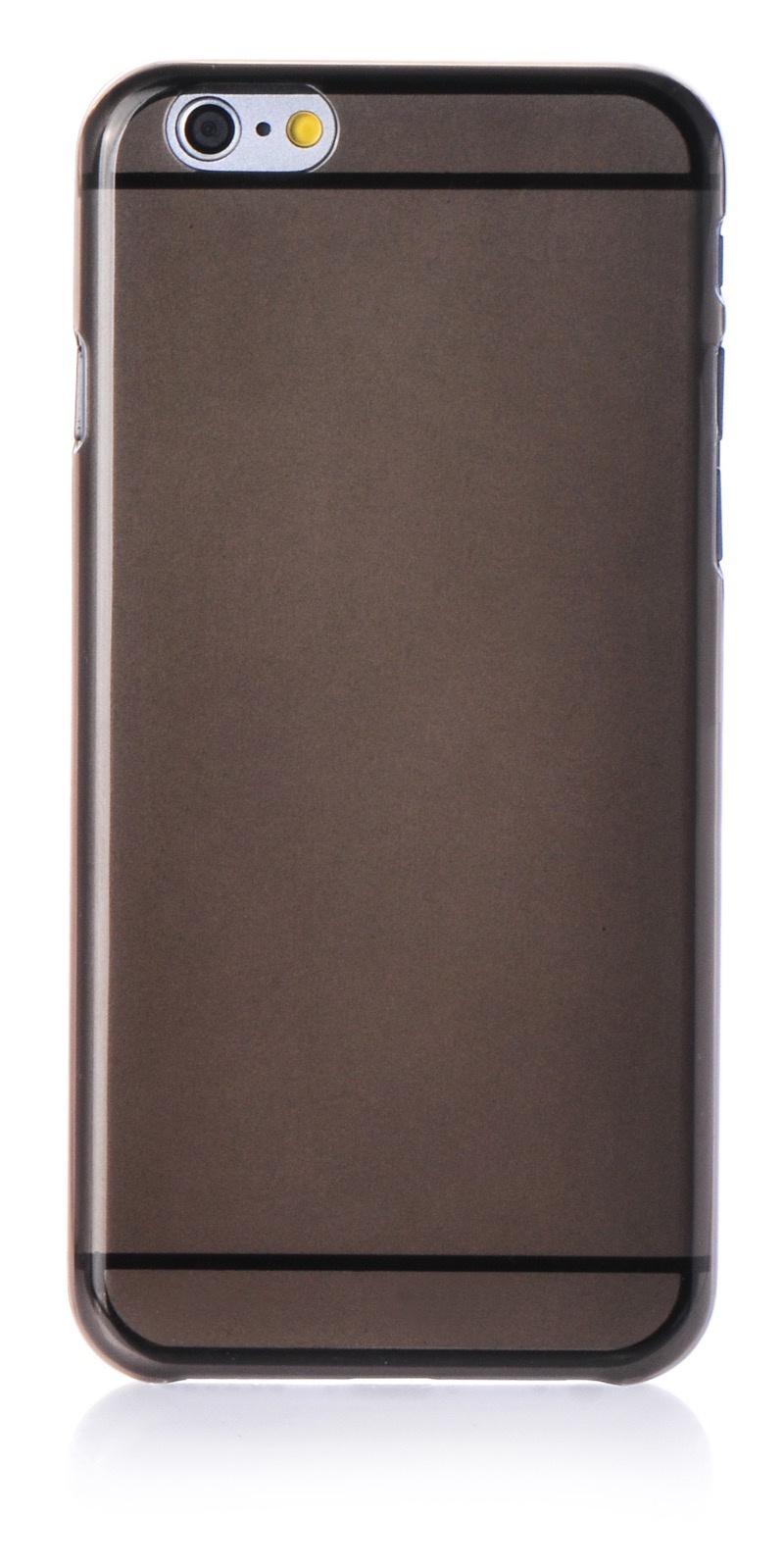 """Чехол для сотового телефона iNeez накладка пластик 0.3mm для Apple iPhone 6 Plus/6S Plus 5.5"""", черный"""