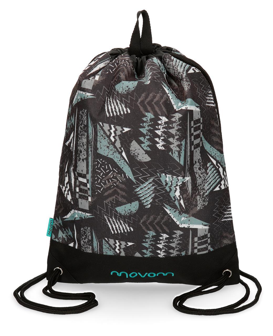 Мешок для сменной обуви Movom Arrow, черный