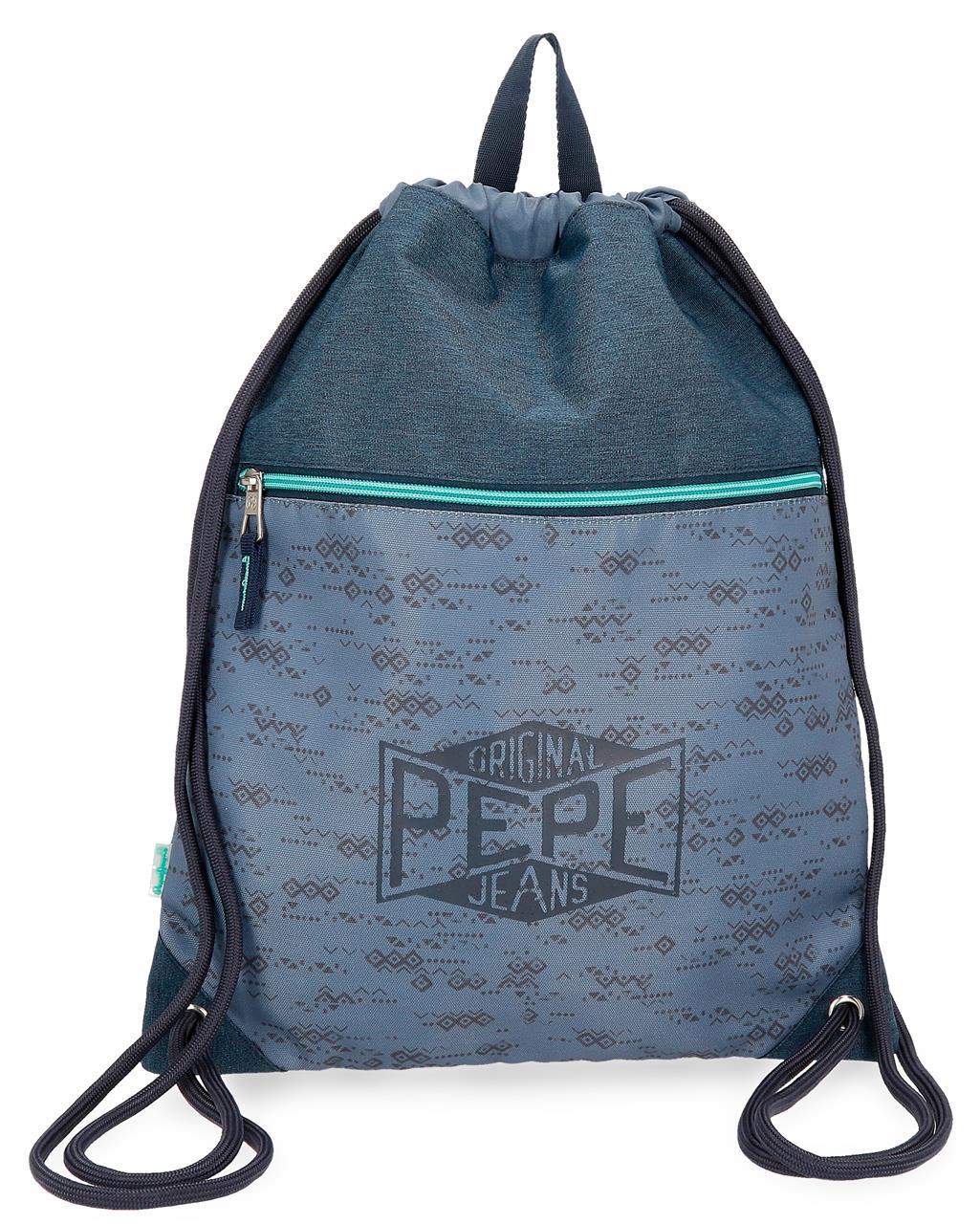 Мешок для сменной обуви Pepe Jeans Pierce, синий