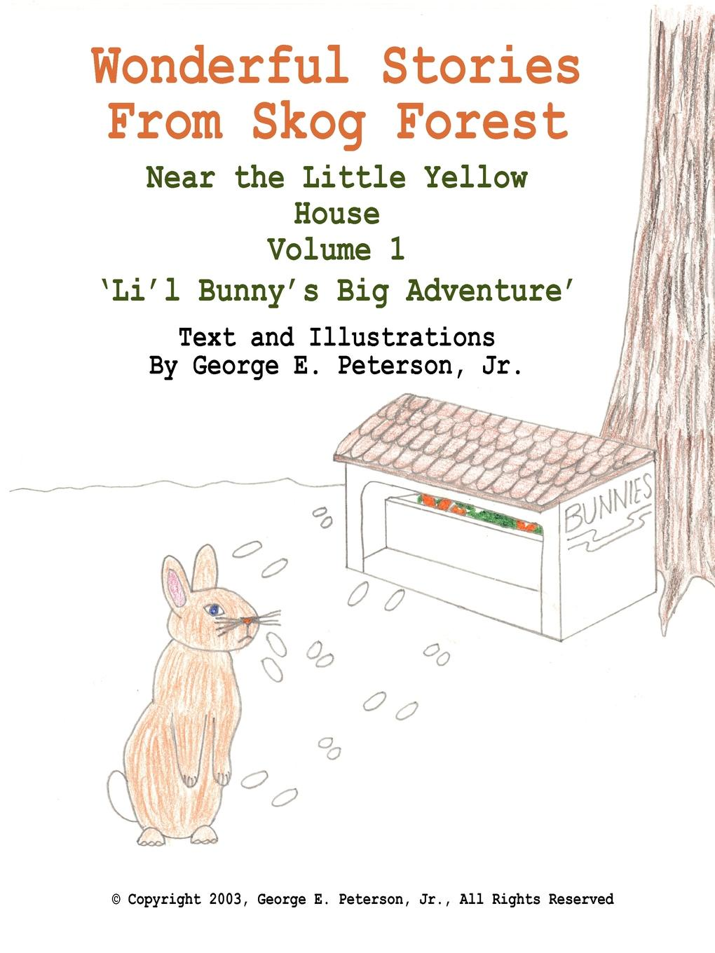 George E. Peterson Jr. Wonderful Stories From Skog Forest. Near the Little Yellow House Volume 1 .Li.l Bunny.s Big Adventure. the bunny book