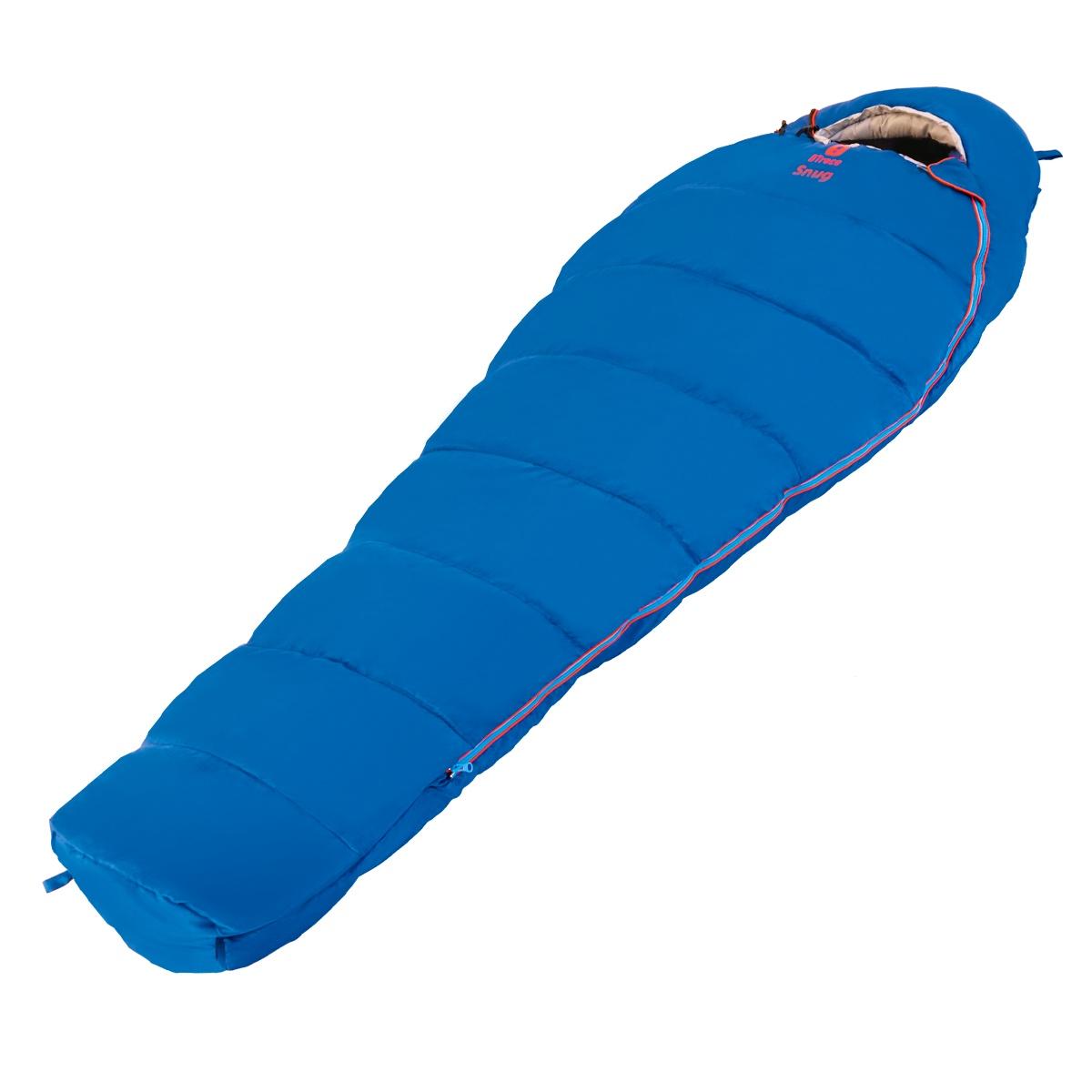 Спальный мешок Btrace S0562, синий цена и фото