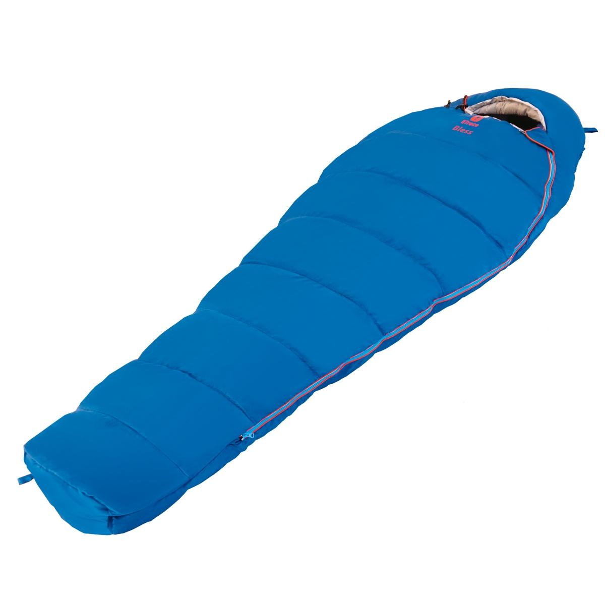 Спальный мешок Btrace S0564, синий цена и фото