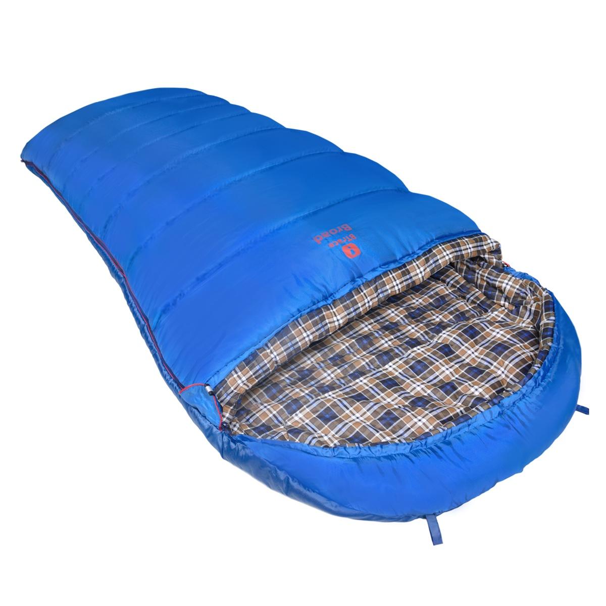 Спальный мешок Btrace S0568, синий цена и фото