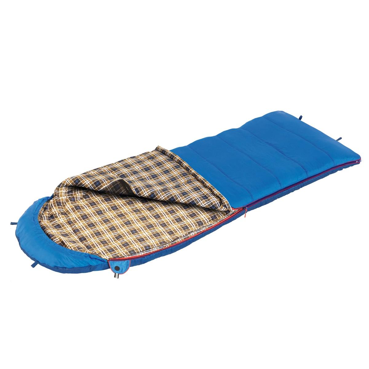 Спальный мешок Btrace S0569, синий цена и фото