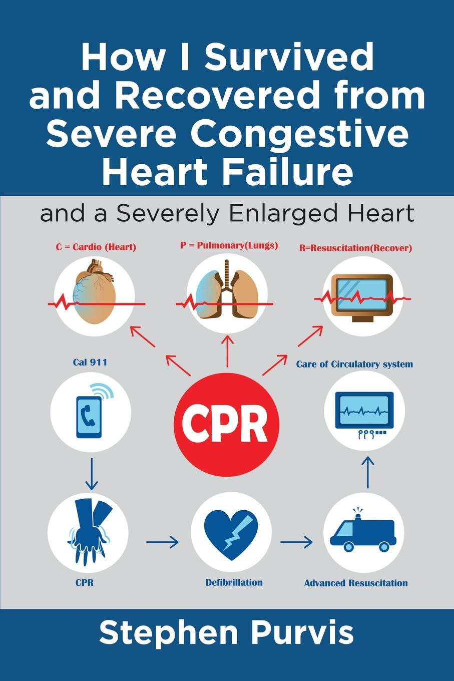 Stephen Purvis How I Survived and Recovered from Severe Congestive Heart Failure. And a Severely Enlarged Heart outcomes in heart failure