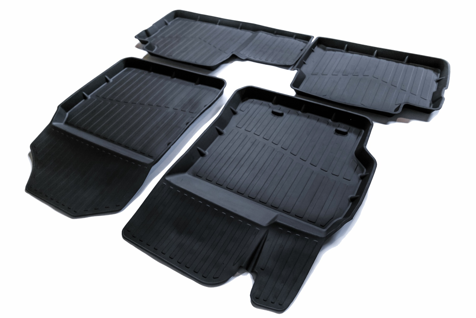 Коврики резиновые в салон 3D PREMIUM для Toyota Corolla X (2007-2013) недорго, оригинальная цена