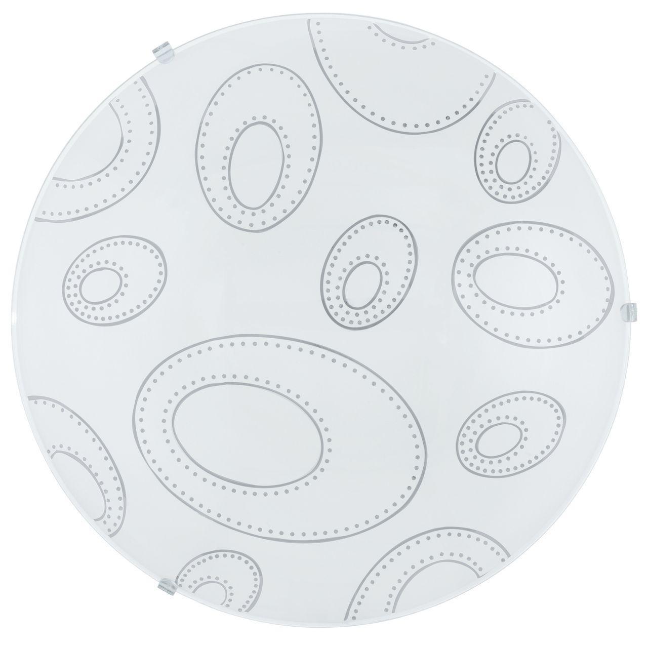 Настенно-потолочный светильник Eglo 90151, белый eglo 93175