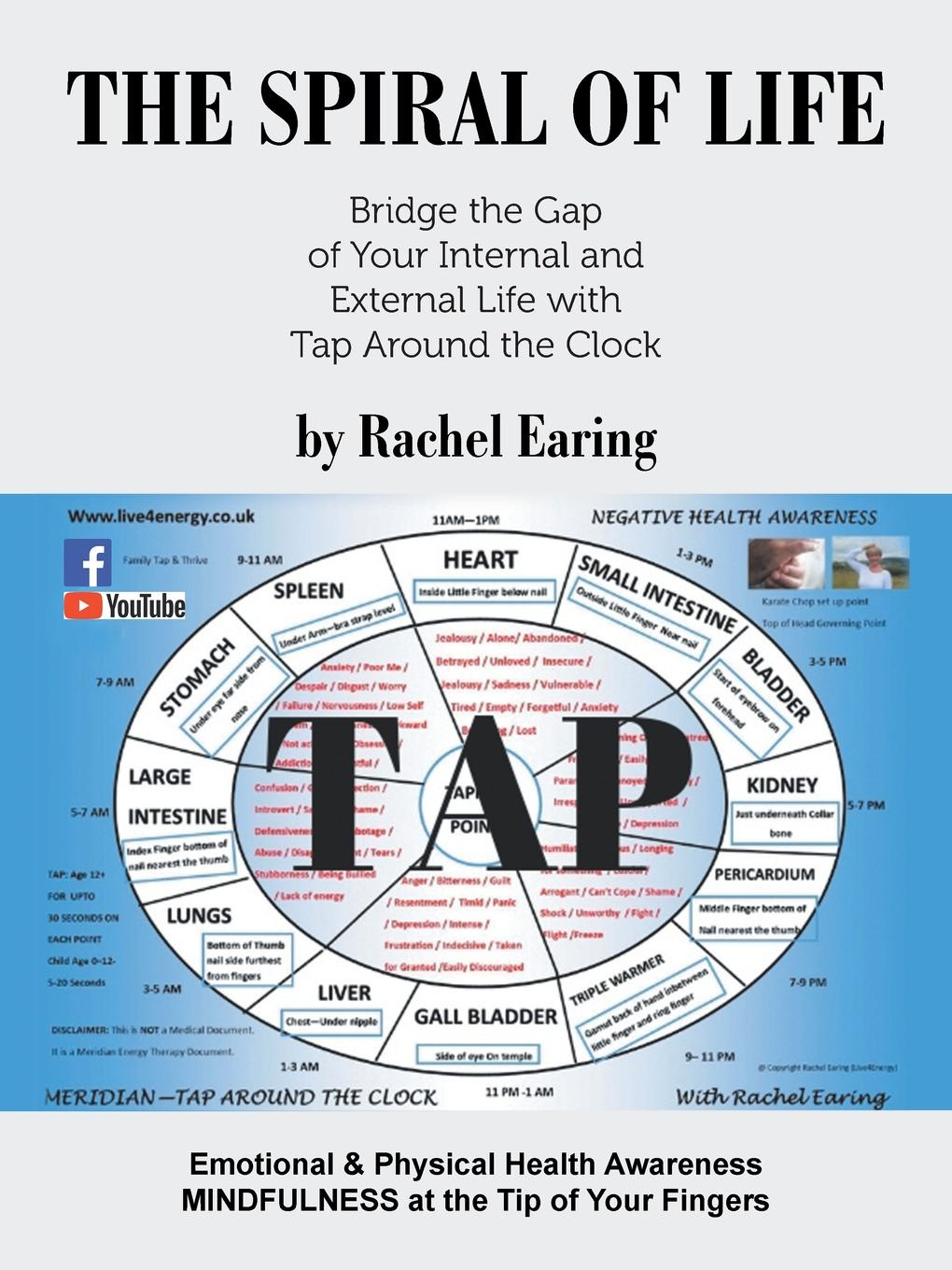 Rachel Earing The Spiral of Life. Bridge the Gap of Your Internal and External Life with Tap Around the Clock bp herbert bury russian life to day