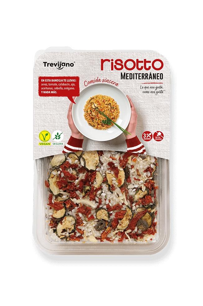 Рис Trevijano Ризотто Средиземноморское с овощами, 280 г