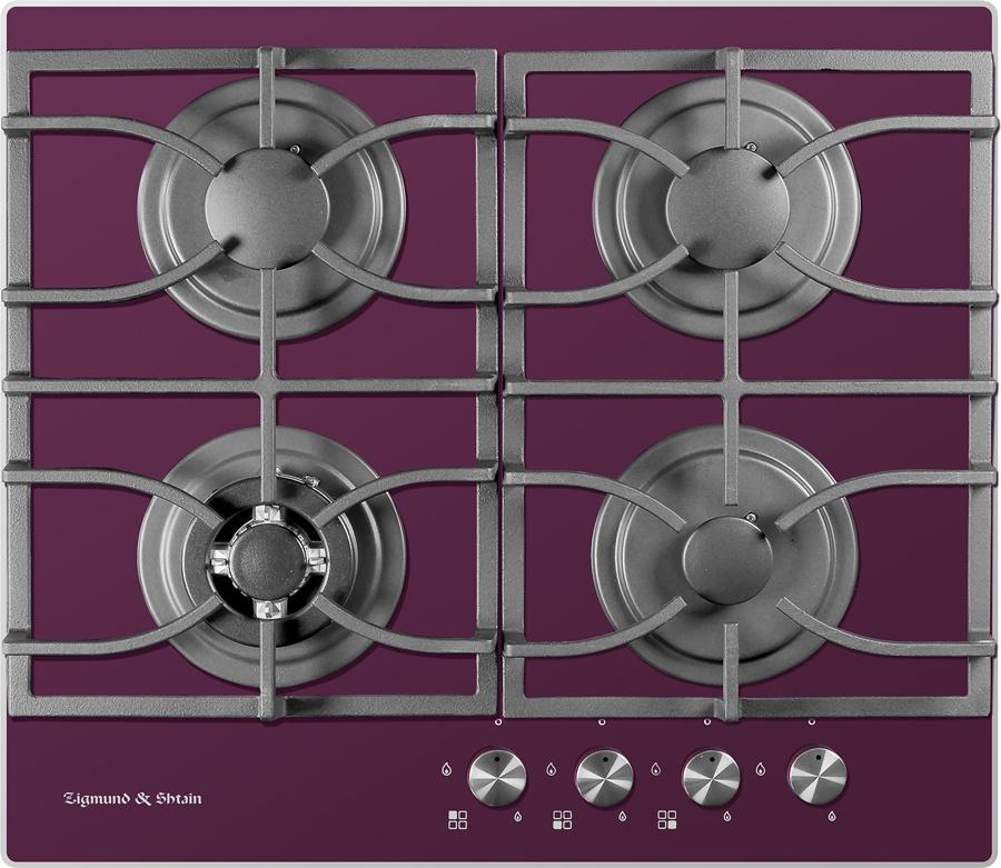 Варочная панель Zigmund & Shtain MN 115.61 V, фиолетовый