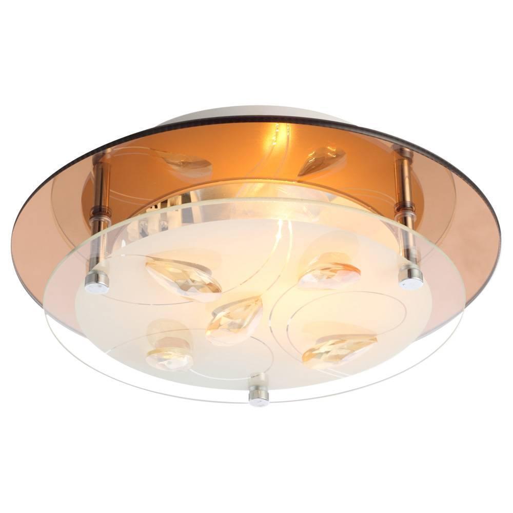 купить Потолочный светильник Globo 40413, белый онлайн