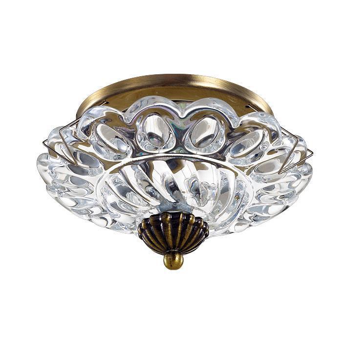 Встраиваемый светильник Novotech 370156, бронза цена