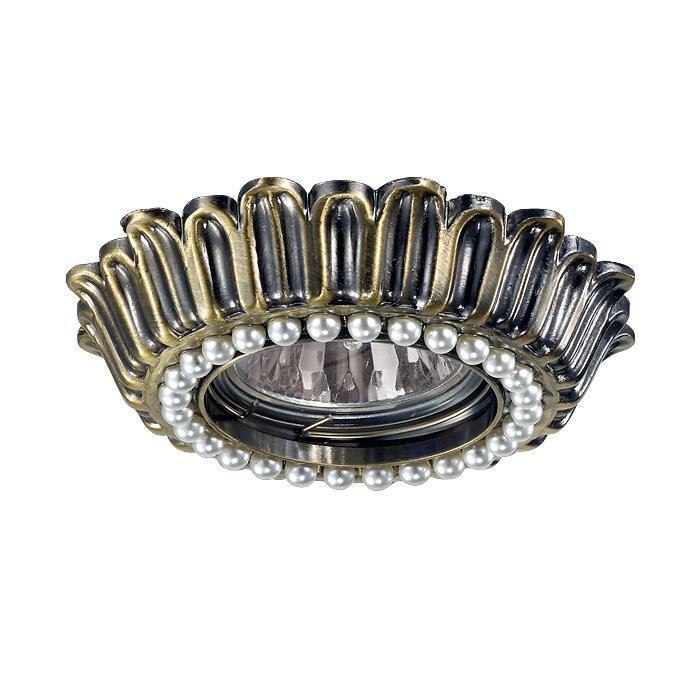 Встраиваемый светильник Novotech 370140, бронза цена