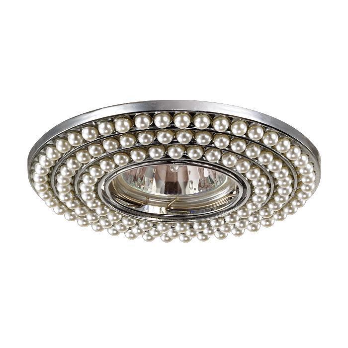 Встраиваемый светильник Novotech 370141, белый цена