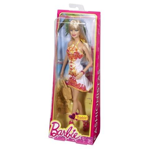 Кукла Mattel Барби Цветочное платье Мода