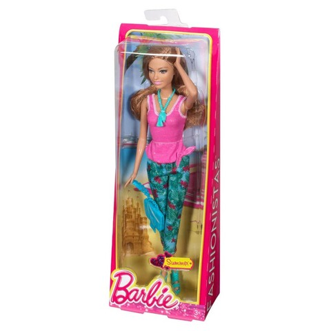 Кукла Mattel Саммер серия Барби Мода Стиль тропиков