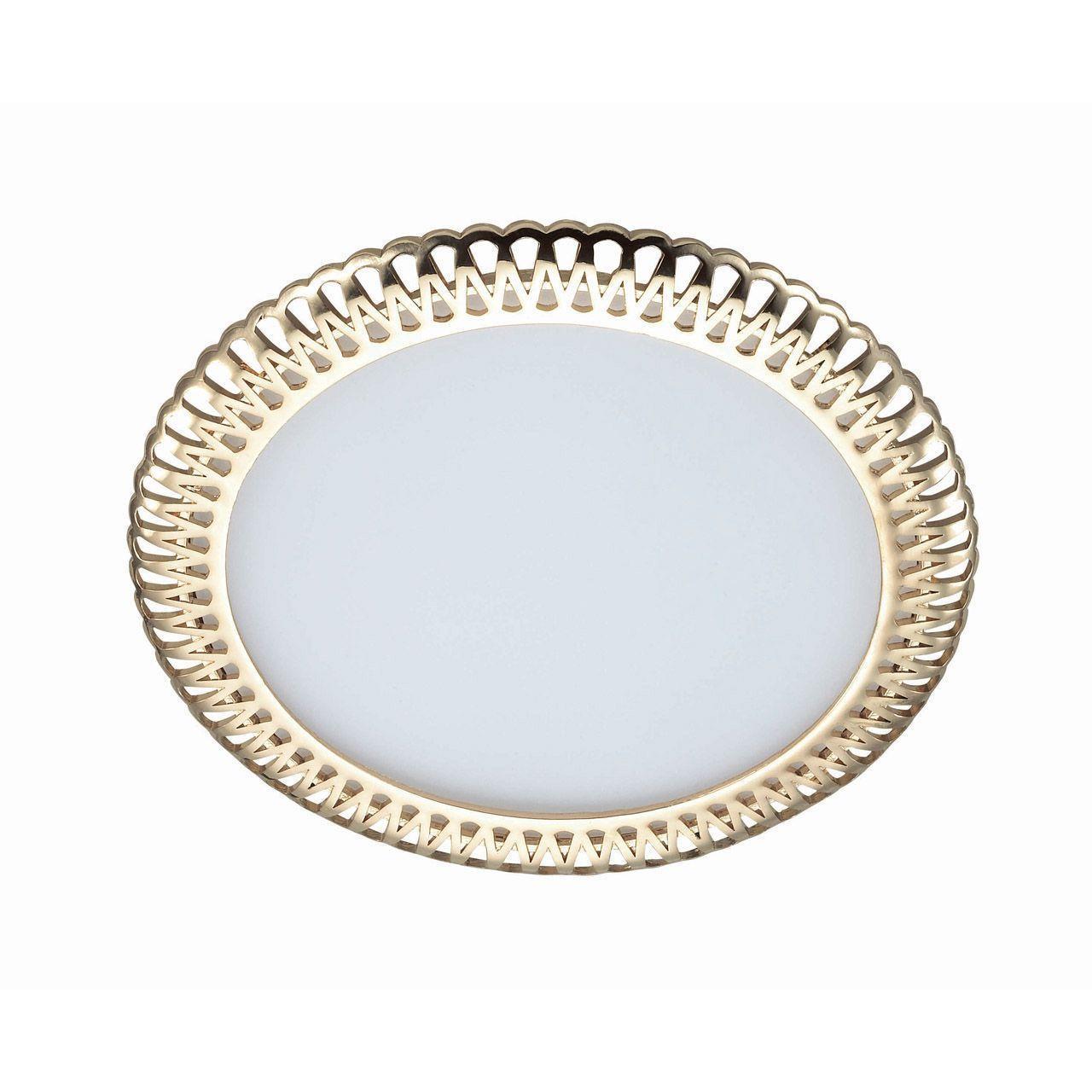 цена на Встраиваемый светильник Novotech 357369, золотой