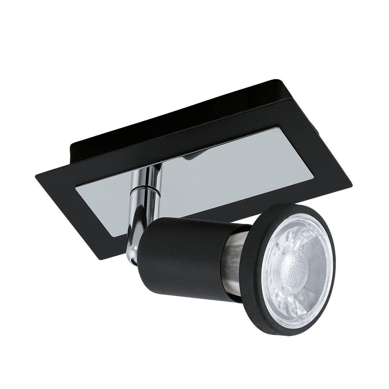 Потолочный светильник Eglo 94963, черный eglo светильник спот eglo 31264