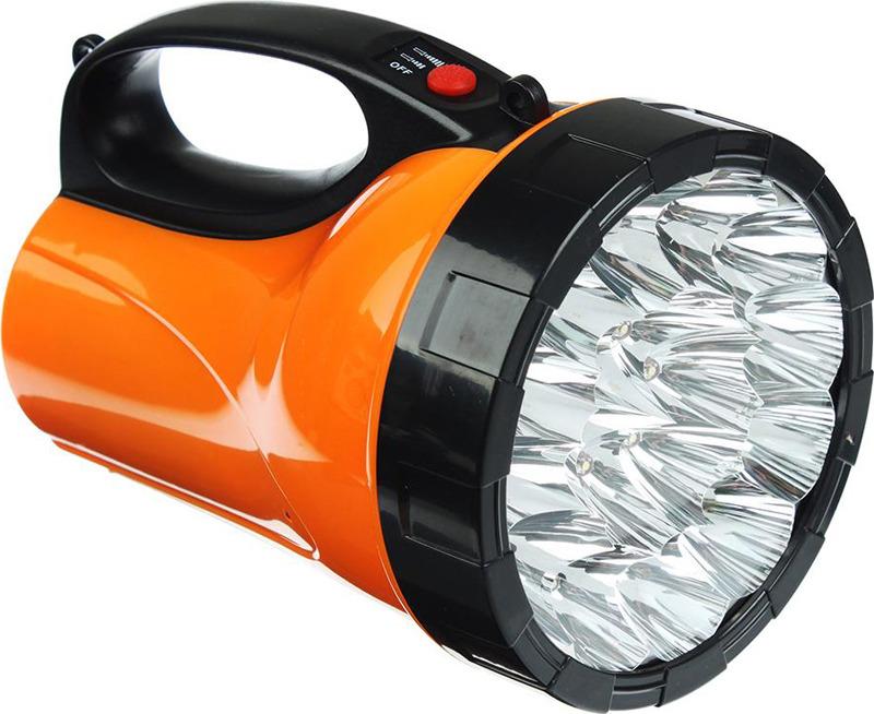 Фонарь-прожектор Чингисхан, 18 LED, 198-012, черный