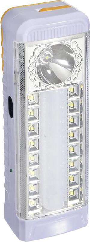 Кемпинговый фонарь Чингисхан, 16+12 LED, 198-083, белый