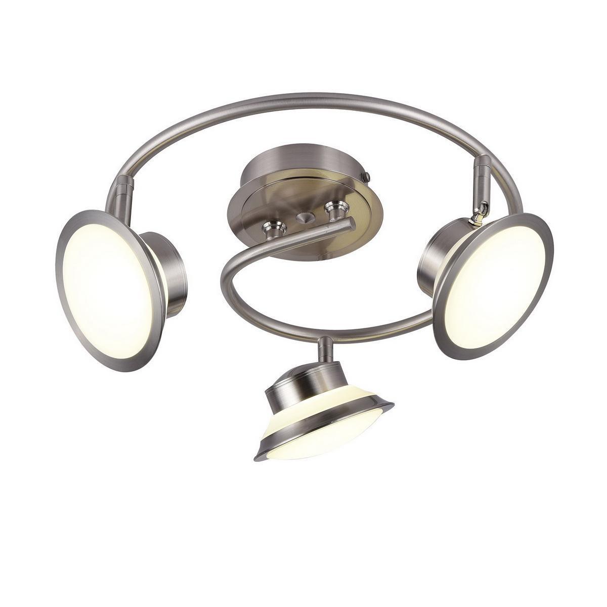 Потолочный светильник IDLamp 104/3PF-LEDWhitechrome, белый idlamp cg72