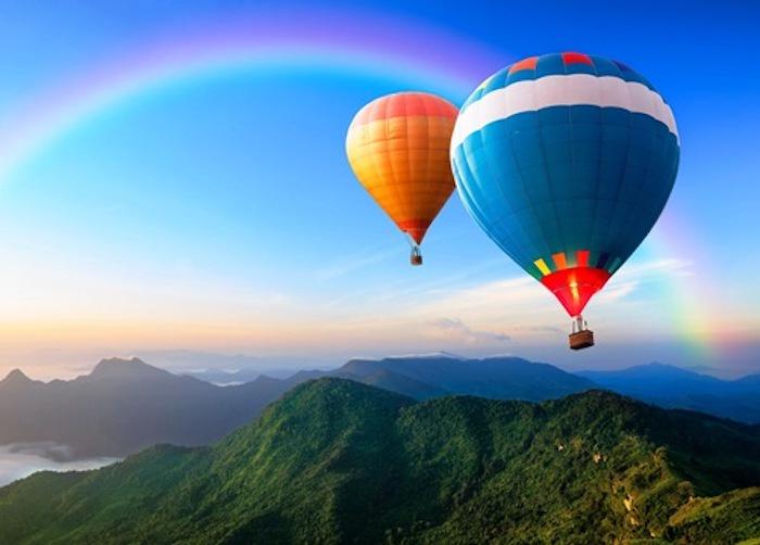"""Алмазная мозаика Яркие Грани """"Воздушные шары"""" (DS810), размер 50х36 см, 55 цветов"""