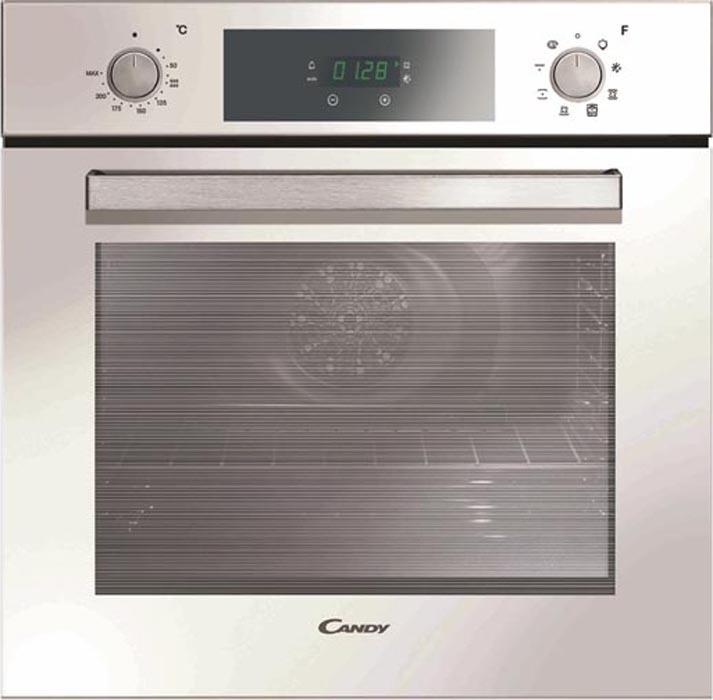 Встраиваемый духовой шкаф Candy FCP625WXL/E, белый, серебристый