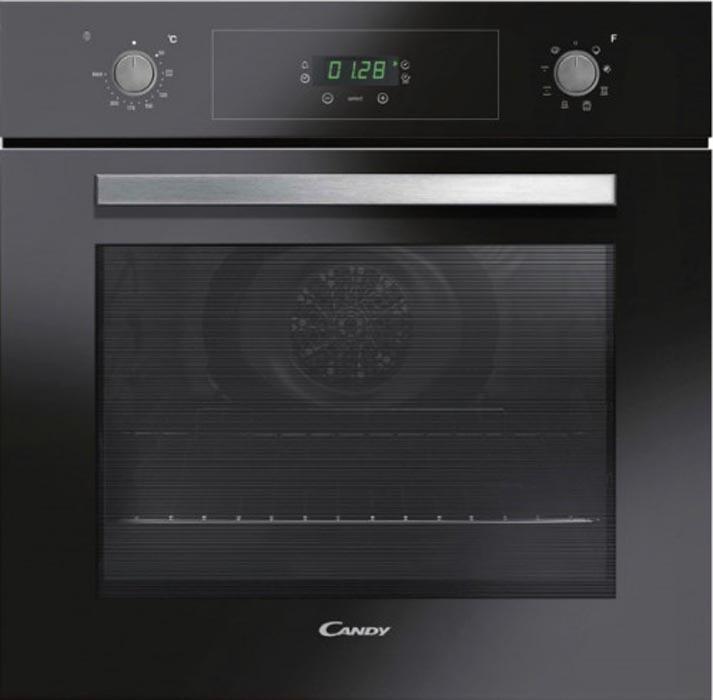 Встраиваемый духовой шкаф Candy FCP605NXL, черный, серебристый