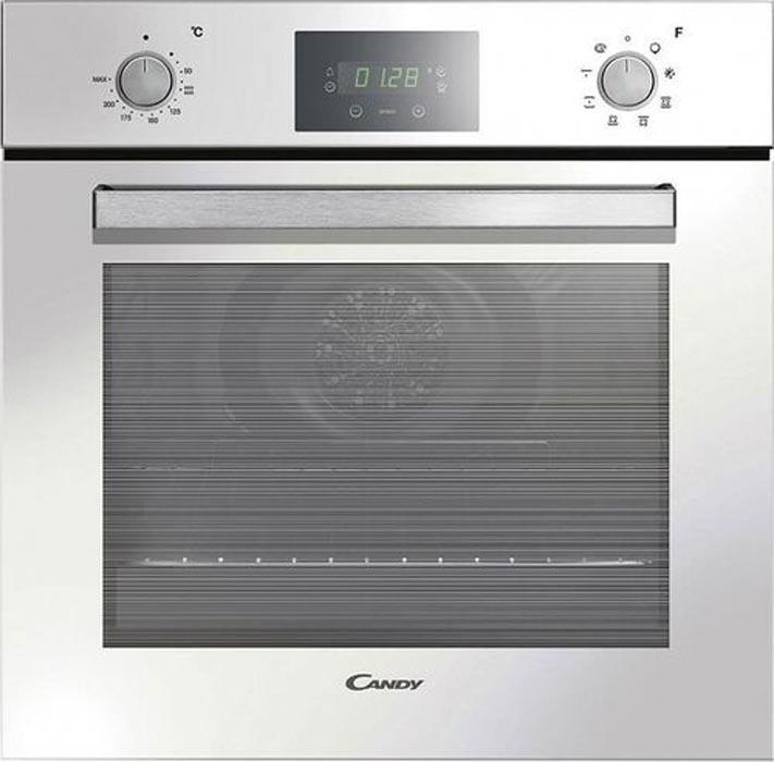 Встраиваемый духовой шкаф Candy FCP605WXL/E, белый, серебристый