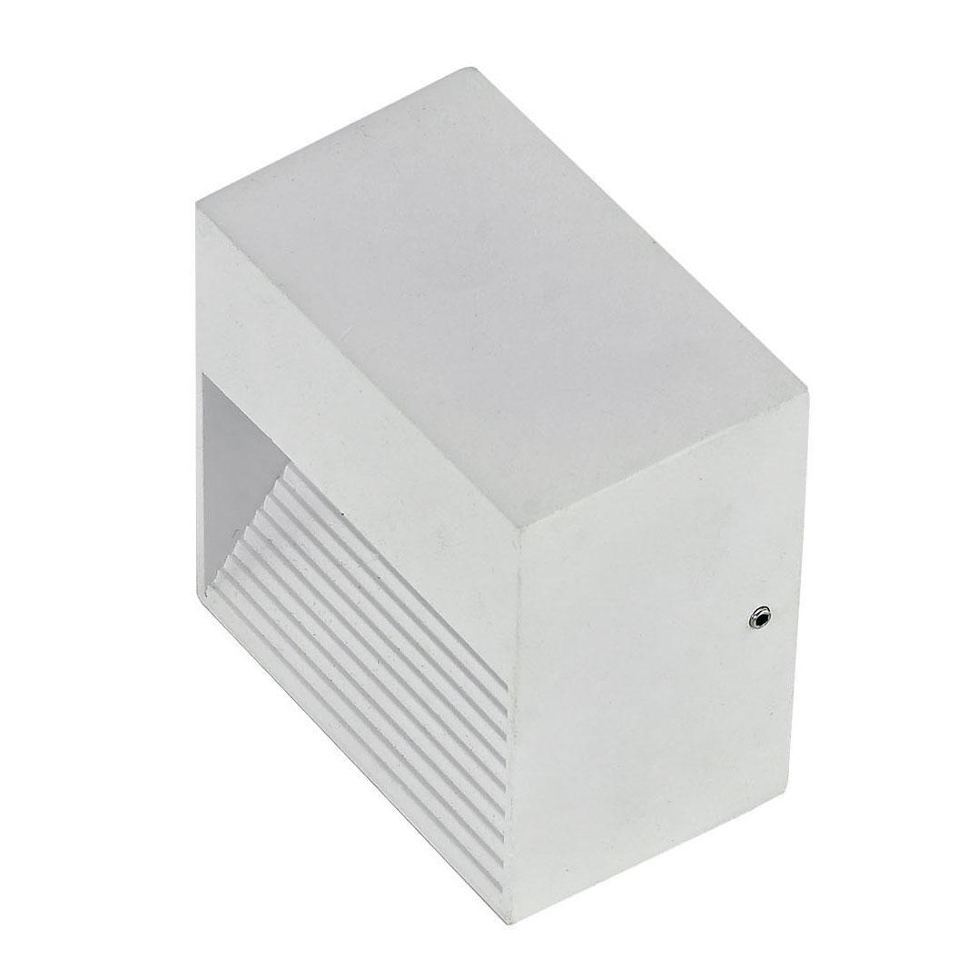 Уличный светильник Ideal Lux Down AP1 Bianco, белый светильник ideal lux admiral admiral ap1