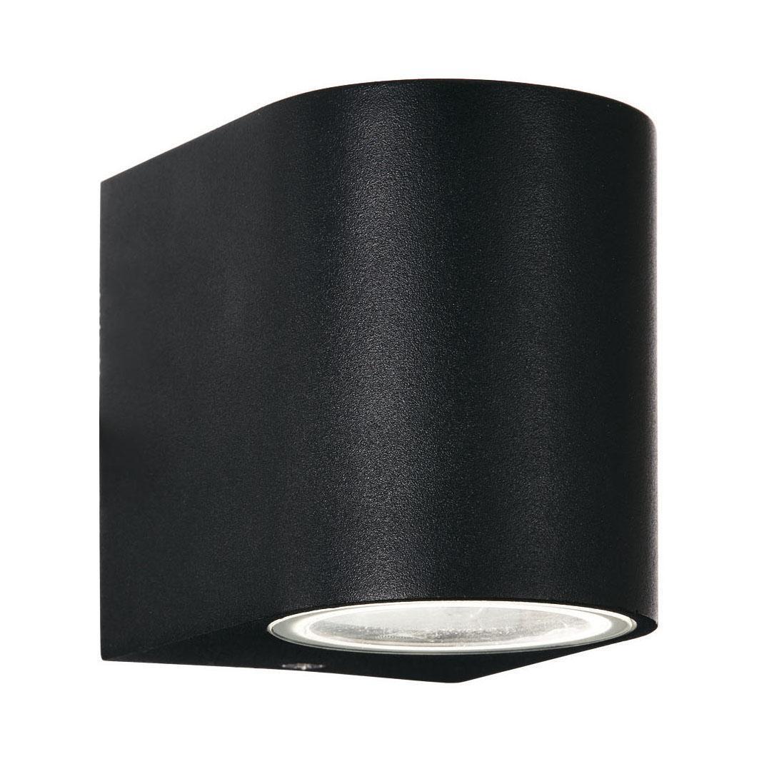 Уличный светильник Ideal Lux Astro AP1 Nero, черный настенное бра ideal lux astro astro ap1 nero