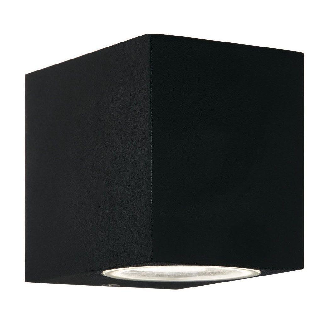 Уличный светильник Ideal Lux Up AP1 Nero, черный настенное бра ideal lux astro astro ap1 nero