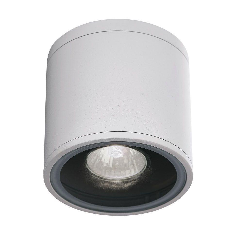 Уличный светильник Ideal Lux Gun PL1 Bianco, белый светильник ideal lux toffee toffee led pl1 d23