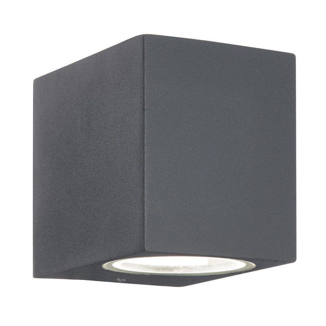 Уличный светильник Ideal Lux Up AP1 Antracite, серый уличный настенный светильник ideal lux up ap2 antracite