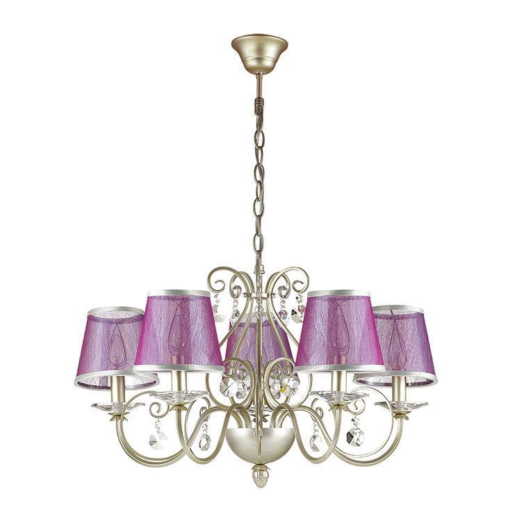 Подвесной светильник Odeon Light 3396/5, розовый odeon 2890 5