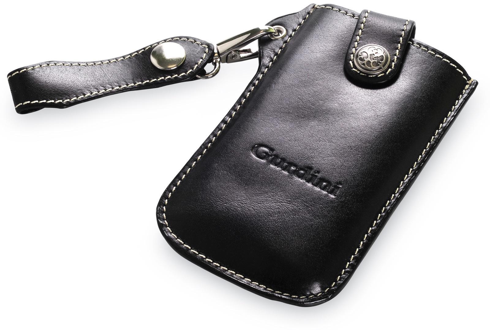Чехол для сотового телефона Gurdini кармашек вертикальный на пояс для Apple iPhone 5/5S/SE, черный