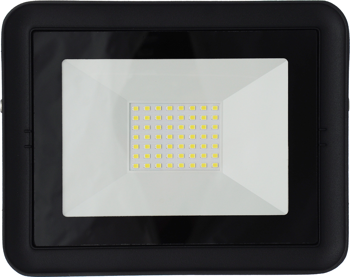 Прожектор SmartBuy FL SMD Light, светодиодный, SBL-FLLight-100-65K, черный цена и фото